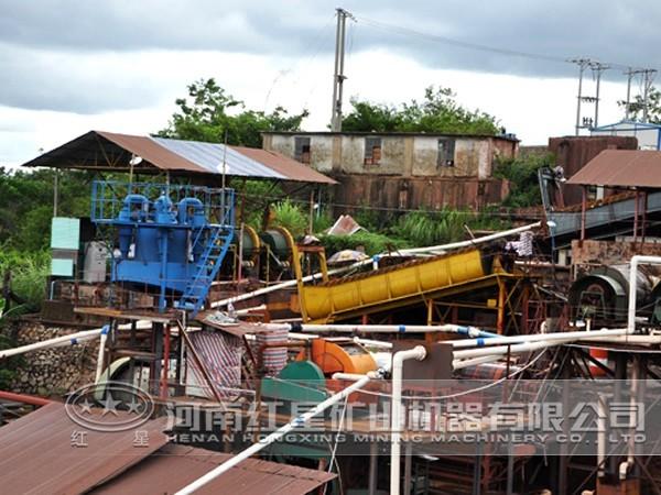 铜硫矿选矿生产线