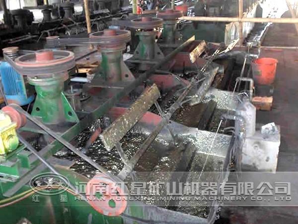 选矿生产线生产流程