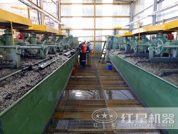 云南斑铜矿生产线现场