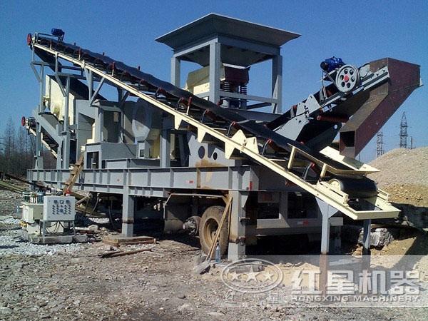 移动式煤炭破碎机环保生产