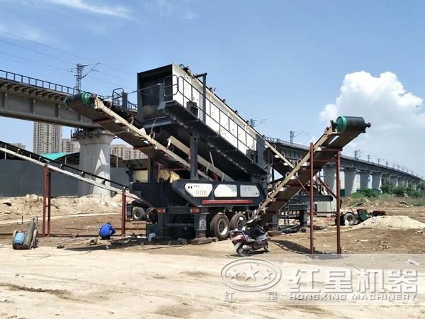 红星机器作为大型移动破碎站厂家